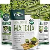 MATCHA Green Tea Powder - Fat Burner - 100% USDA Organic Certified - 137x ANTIOXIDANTS Than Brewed Green Tea - Sugar Free - Great for Green Tea Latte, Smoothie, Ice Cream and Baking - Coffee Substitute (4oz)
