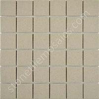 Beige Speckled Unglazed Porcelain Mosaic Square 2x2 Inch ...