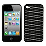 Brand New Apple Iphone 4 Hard Case Mesh Style (Black)