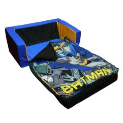 Superhero Bean Bag Chair Black Distressed Dining Chairs Batman Kids Room Archives Groovy Gear