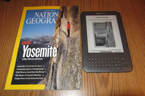 National Geographic on the Kindle is an overpriced lifeless shell Reviews