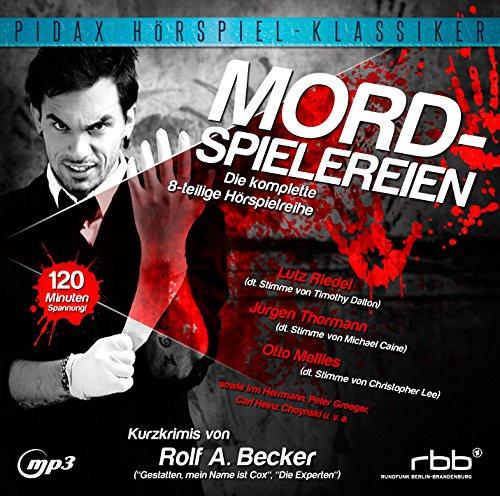 Pidax Hörspiel-Klassiker - Mordspielereien (Rolf Becker) SFB / ORB 1999 / Pidax 2015