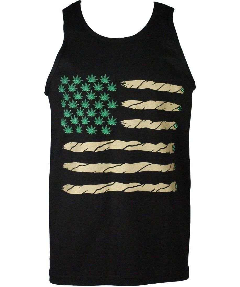 Cali Weed 420 Men's Tank Top Shirts