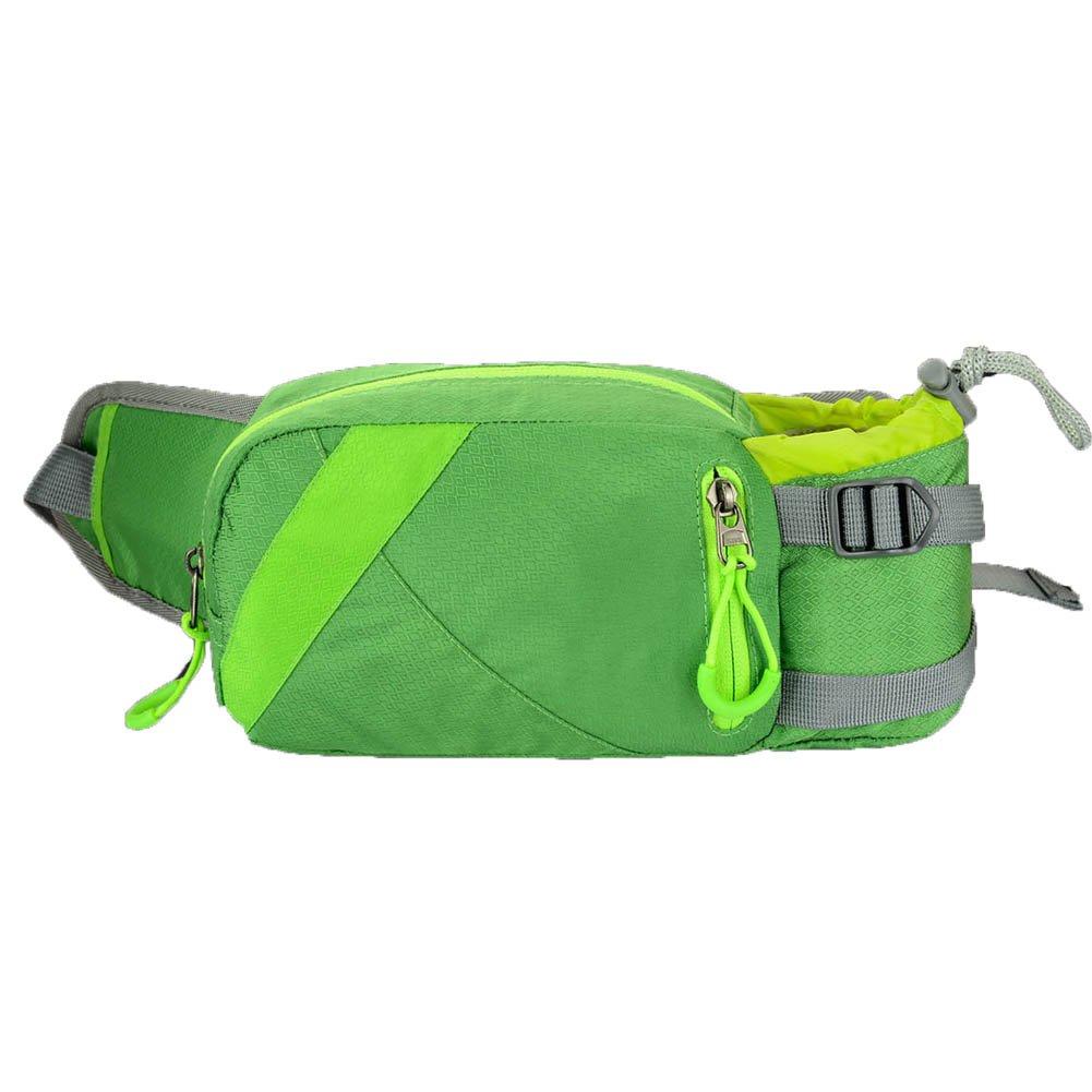 High-Capacity Water Resistan Unisex All Outdoor Sports Waist Pack Bag Bum Water Bottle Holder