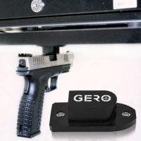 Tactical Quick Draw Gun Magnet Concealed Pistol Holder ...