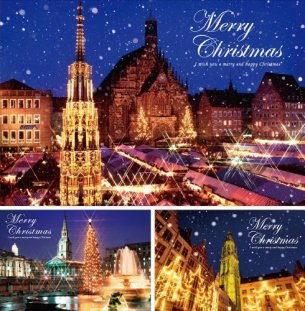 世界のクリスマス B (写真工房ポストカード / PS-014)