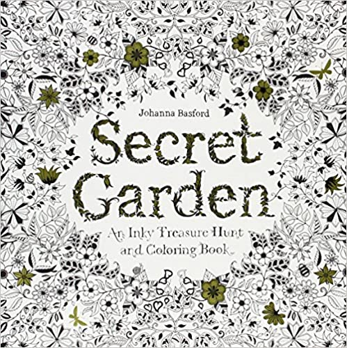 Secret Garden By Johanna Basford One Of The Most Popular Grown Up Coloring Books Out There According To What Ive Read Also Lots Small Detailed Areas