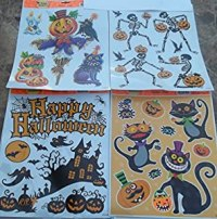 Amazon.com: Halloween Window Clings - Halloween ...