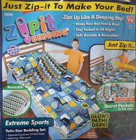 Zipit Bedding Set, Extreme Sports- Deluxe Glow in the Dark ...