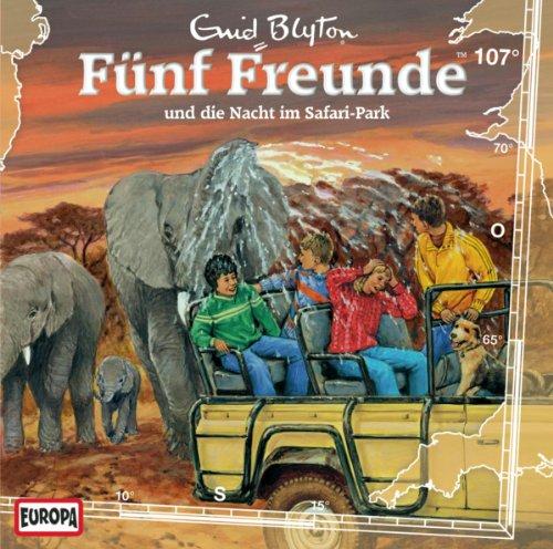 Fünf Freunde (107) und die Nacht im Safari-Park (Europa)