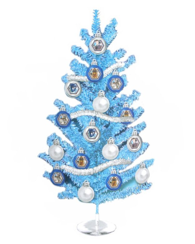 doctor who christmas tree