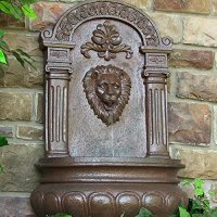 Awardpedia - Lion Head Outdoor Wall Mount Garden Water ...
