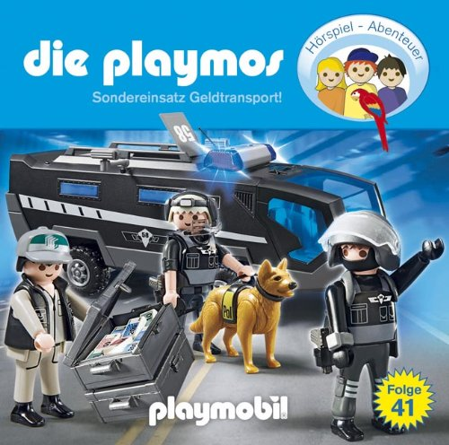 Die Playmos (41) Sondereinsatz Geldtransport! (Lübbe Audio)