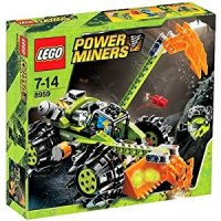 Amazon.com: Lego Power Miners 8959 Claw Digger (197pcs ...