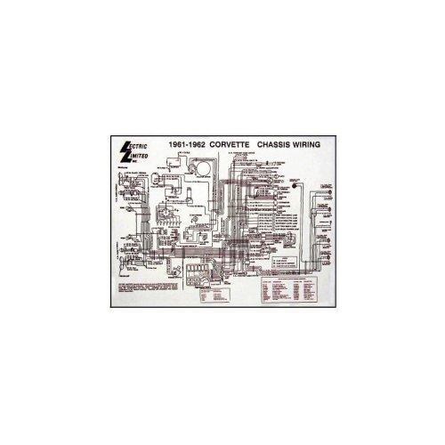 small resolution of corvette c1 wiring diagram 17x22 laminated