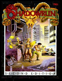 Portada de Shadowrun 2ª edición