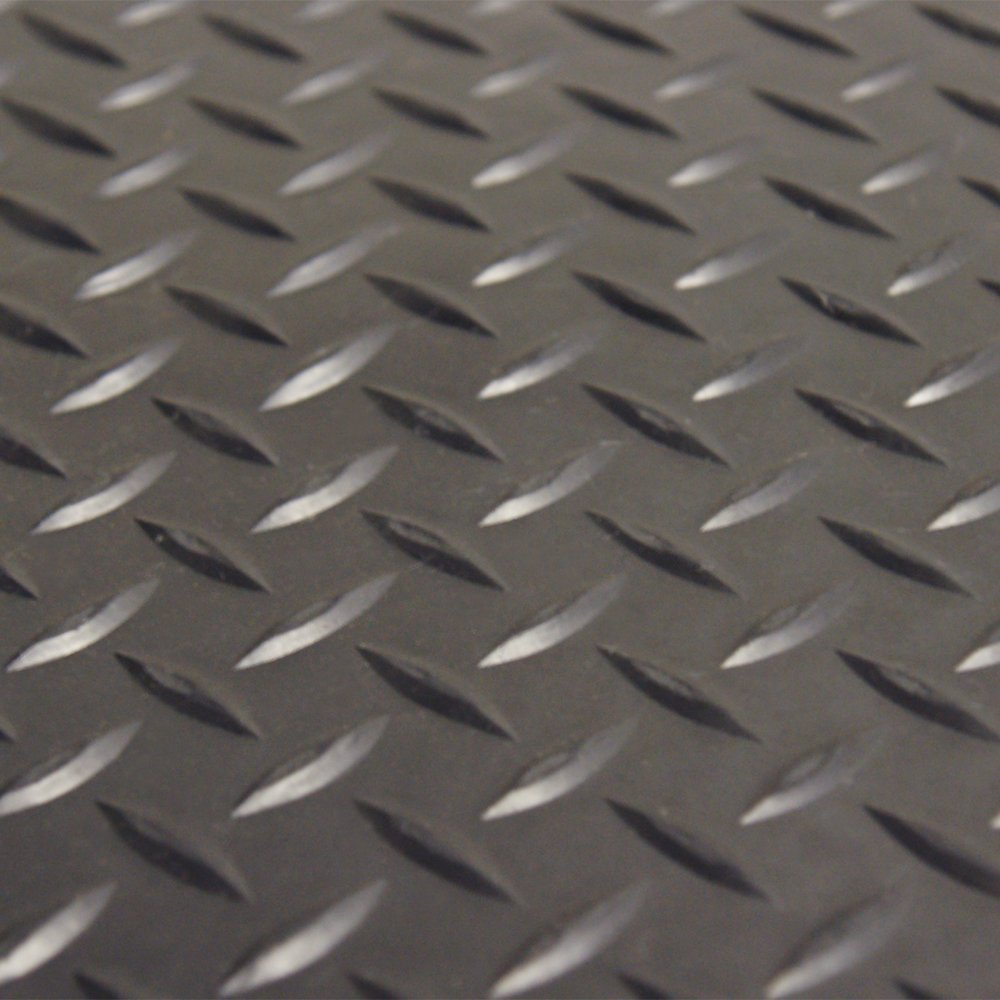 features diamond plate rubber protector mats will protect