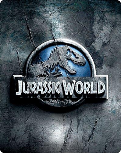 【Amazon.co.jp限定】ジュラシック・ワールド スチール・ブック仕様ブルーレイ&DVDセット [Blu-ray]