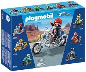 Playmobil-Coleccionables-Moto-Chopper-playset-5526