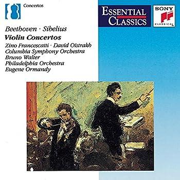 Beethoven Sibelius Violin Concertos Essential Classics