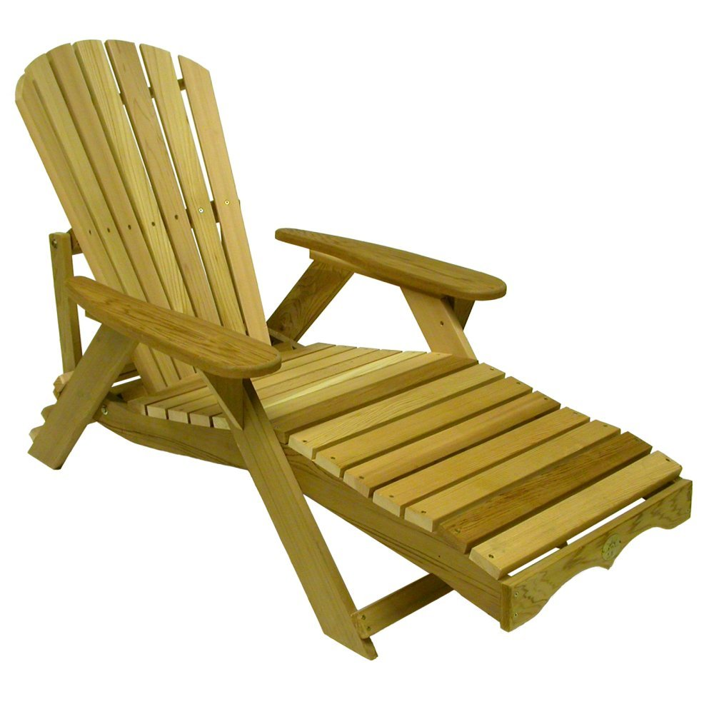 world market adirondack chair design metal (1) bear bc700c red cedar chaise lounge patio porch kit | ebay
