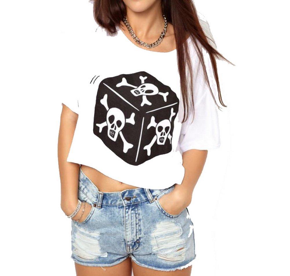 Skull Dice Tee shirt