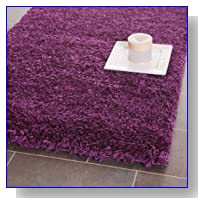 Safavieh Shag Collection SG151-7373 Purple Shag Area Rug, 3-Feet by 5-Feet