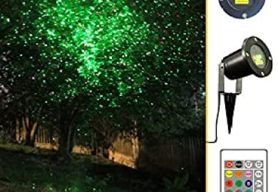 Garden Tree And Outdoor Wall Decoration Laser Lights For