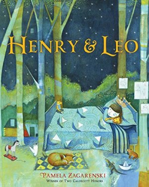 Henry & Leo by Pamela Zagarenski | Featured Book of the Day | wearewordnerds.com