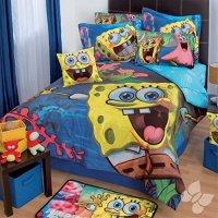 Spongebob Alegria Reversible Comforter and Complete ...