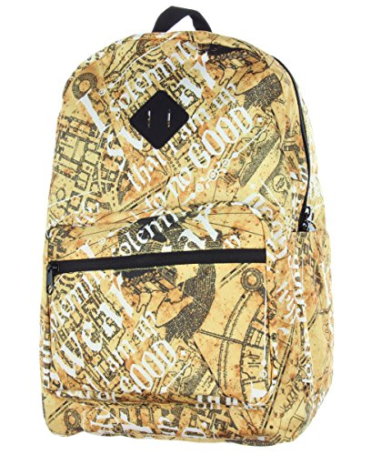 Harry Potter Marauders Map Solemnly Swear Backpack