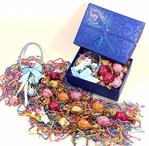 Blue Shimmer Godiva Easter Gift Box - Gourmet Candy