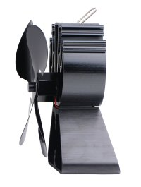 4-Blade Heat Powered Stove Fan for Wood / Log Burner ...