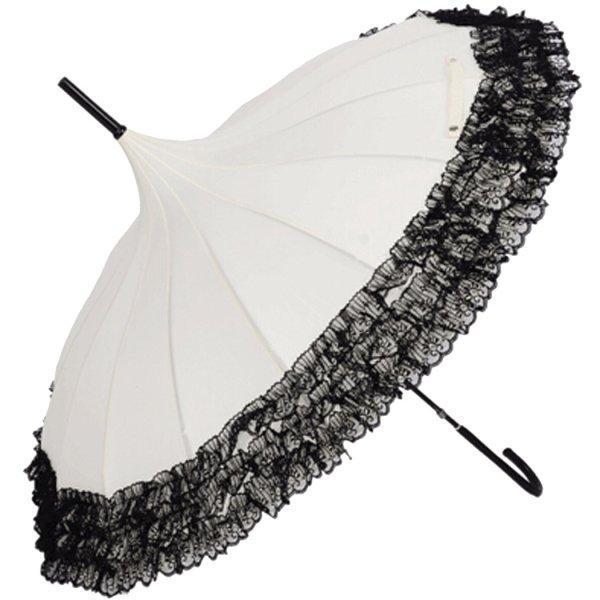 Lace Victorian Parasol And Umbrellas
