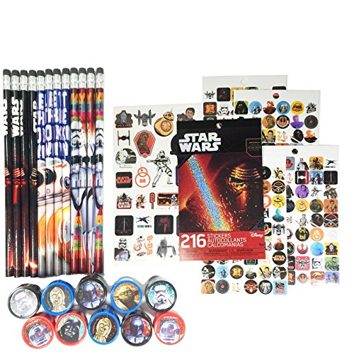 Star Wars Episode VII Birthday Party Set - Star Wars Birthday Party Supplies - Top Amazon Pick for Star Wars