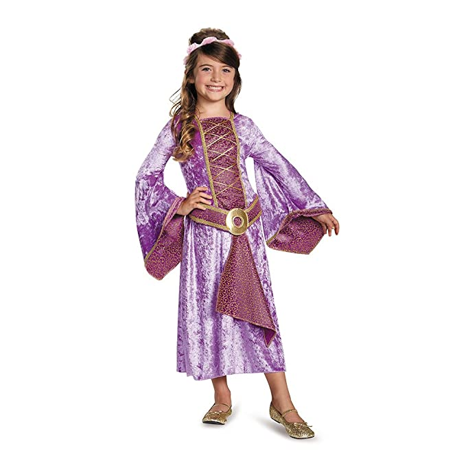 Disguise 84055L Renaissance Maiden Costume, Small (4-6x)