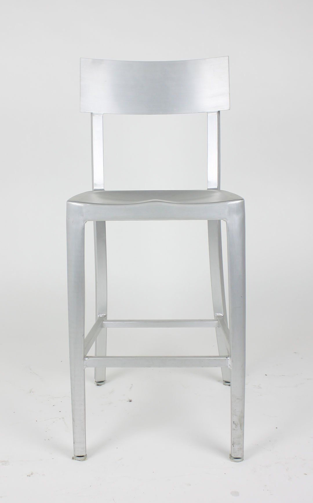 brushed aluminum chairs dining tables with modern cafe chair in counter