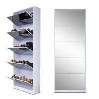 shoe storage mirror cabinet - 28 images - mirrored shoe ...