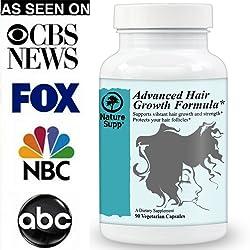 #1 Hair Vitamins - Want Beautiful Hair? Want Faster Growing Longer & Healthier Hair? Premium Supplements...