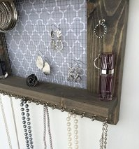 Jewelry Organizer, Earring Holder, Necklace Holder ...