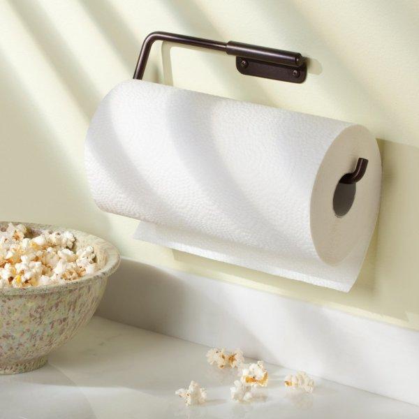 Interdesign Swivel Wall Mount Paper Towel Holder Bronze Free Shipping