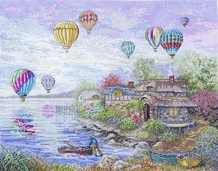 Cottageville Balloon from Bucilla