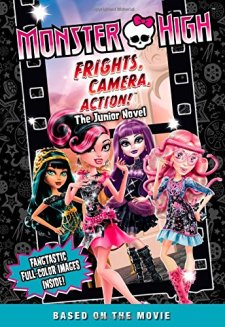 Monster High: Freaky Fusion The Junior Novel by Perdita Finn| wearewordnerds.com