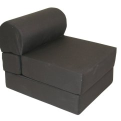 Flip Chair For Adults Race Car Office Nz Big Joe Lounger Black Bean Bag Dorm Kids Room