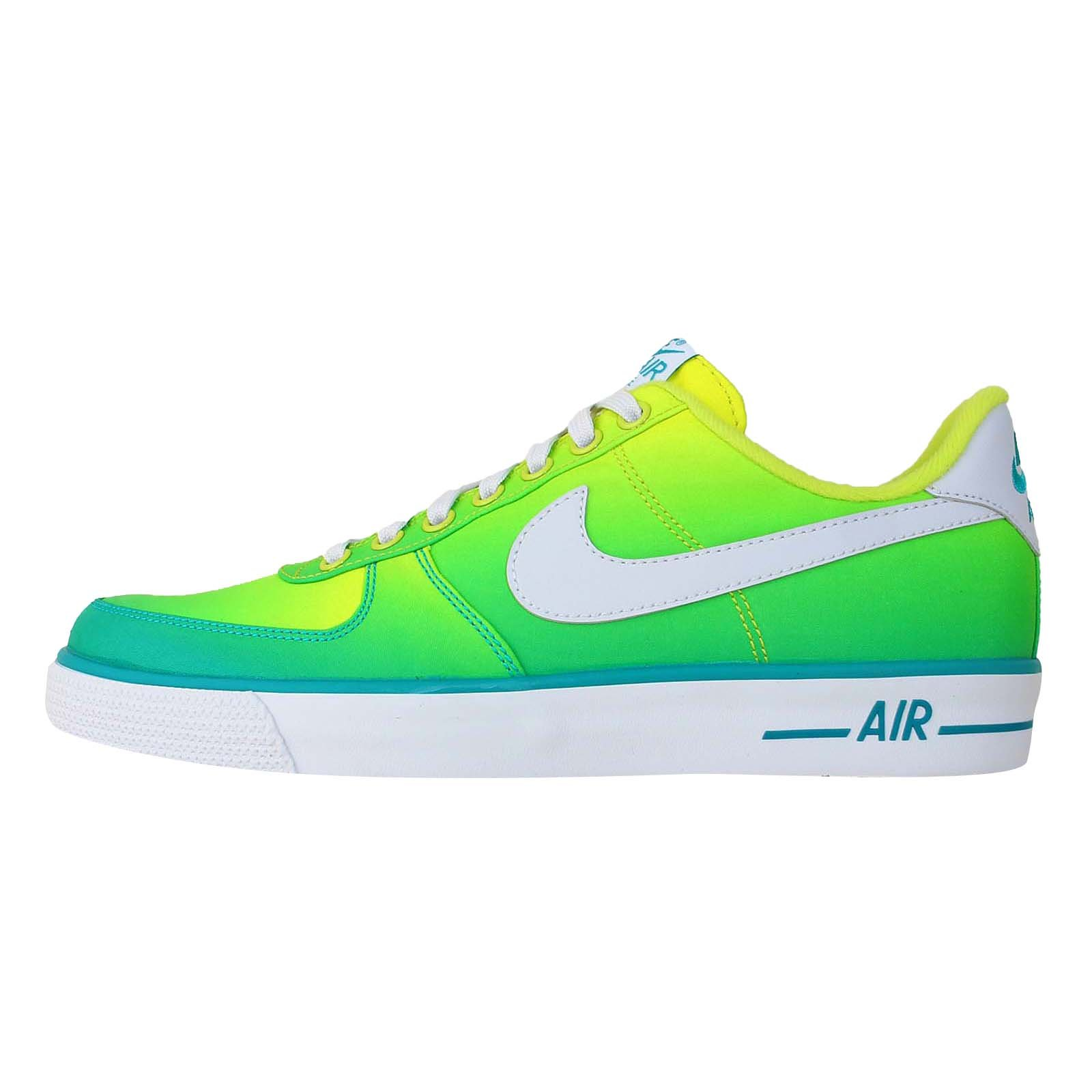 Nike Air Force 1 Ac Br Qs Men's Basketball Shoe 694861 300 Color: Turbo Green/White