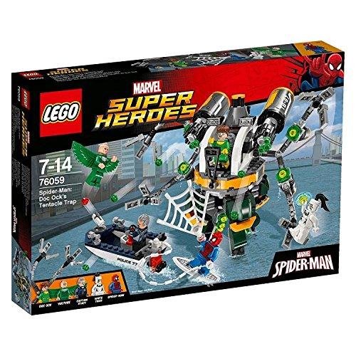 Super Heroes LEGO 76059 – Set Costruzioni Spider-Man: la Trappola Tentacolare di D