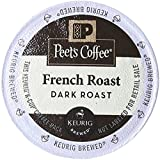 Peet's Coffee & Tea French Roast K-Cup Portion Pack for Keurig K-Cup Brewers, 22 Count