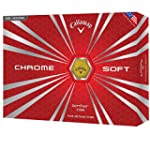 Callaway Chrome Soft White Golf Balls 12-Ball Pack
