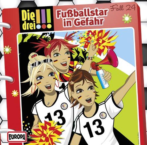 Die drei !!! (24) Fußballstars in Gefahr (Europa)