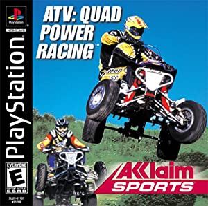 ATV Quad Power Racing PS1 Video Games